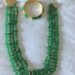 Talbots Necklace and Bracelet